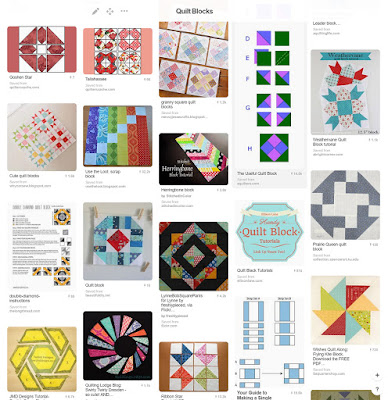 Pinterest - a great resource for finding new quilt block tutorials