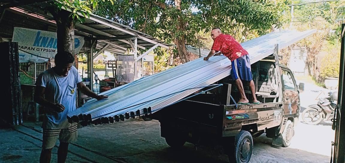 Rangka Baja Ringan Bali 0 75mm Dan 1 00mm Harga Mulai Rp 120 Rb Mtr Di