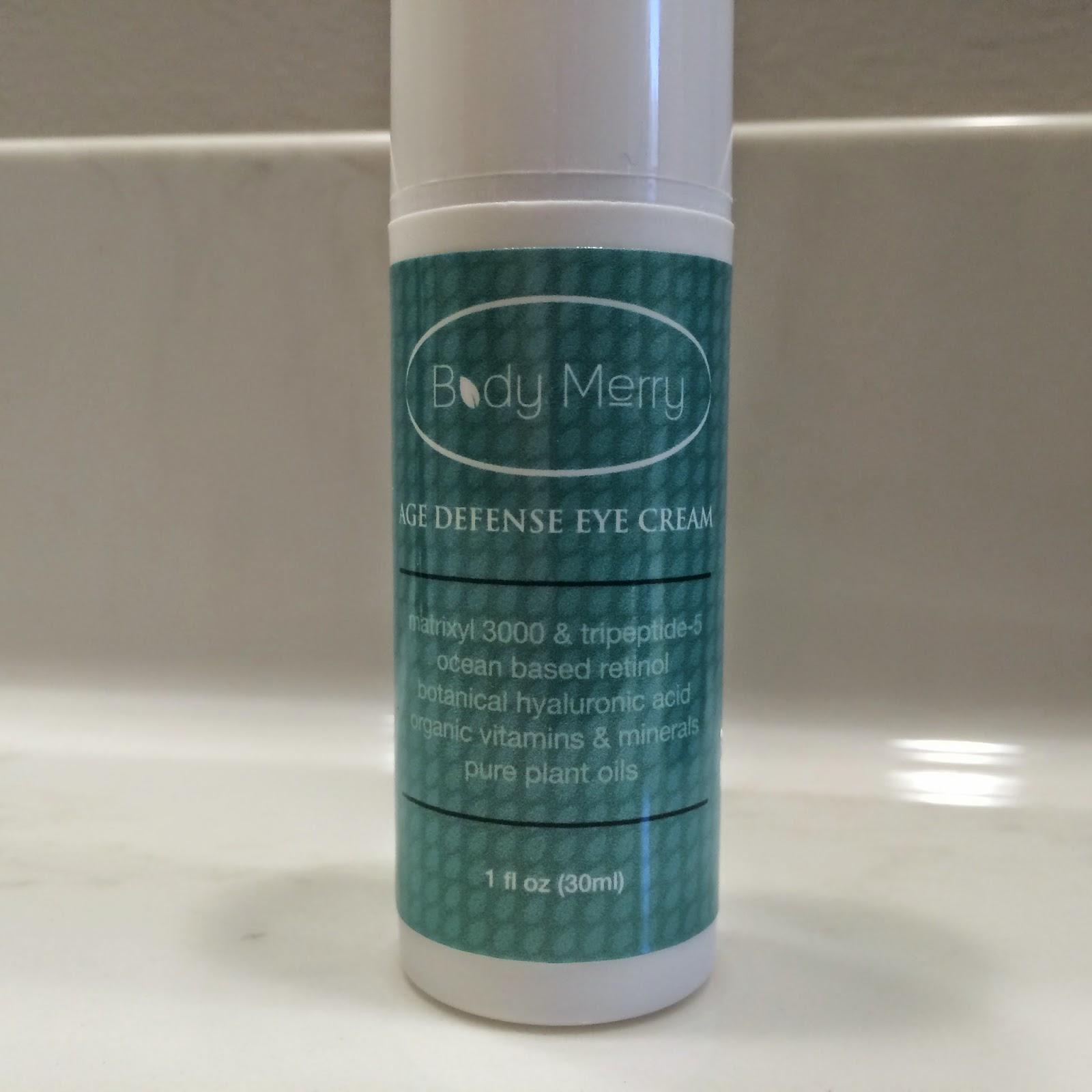 Body Merry Age Defense Eye Cream #review #ivysvariety