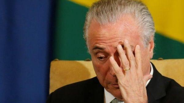 Fiscalía de Brasil pide que Temer vuelva a prisión