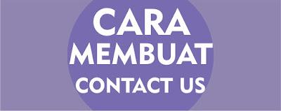 Cara Membuat Contact Us Secara Cepat Dan Mudah 2017