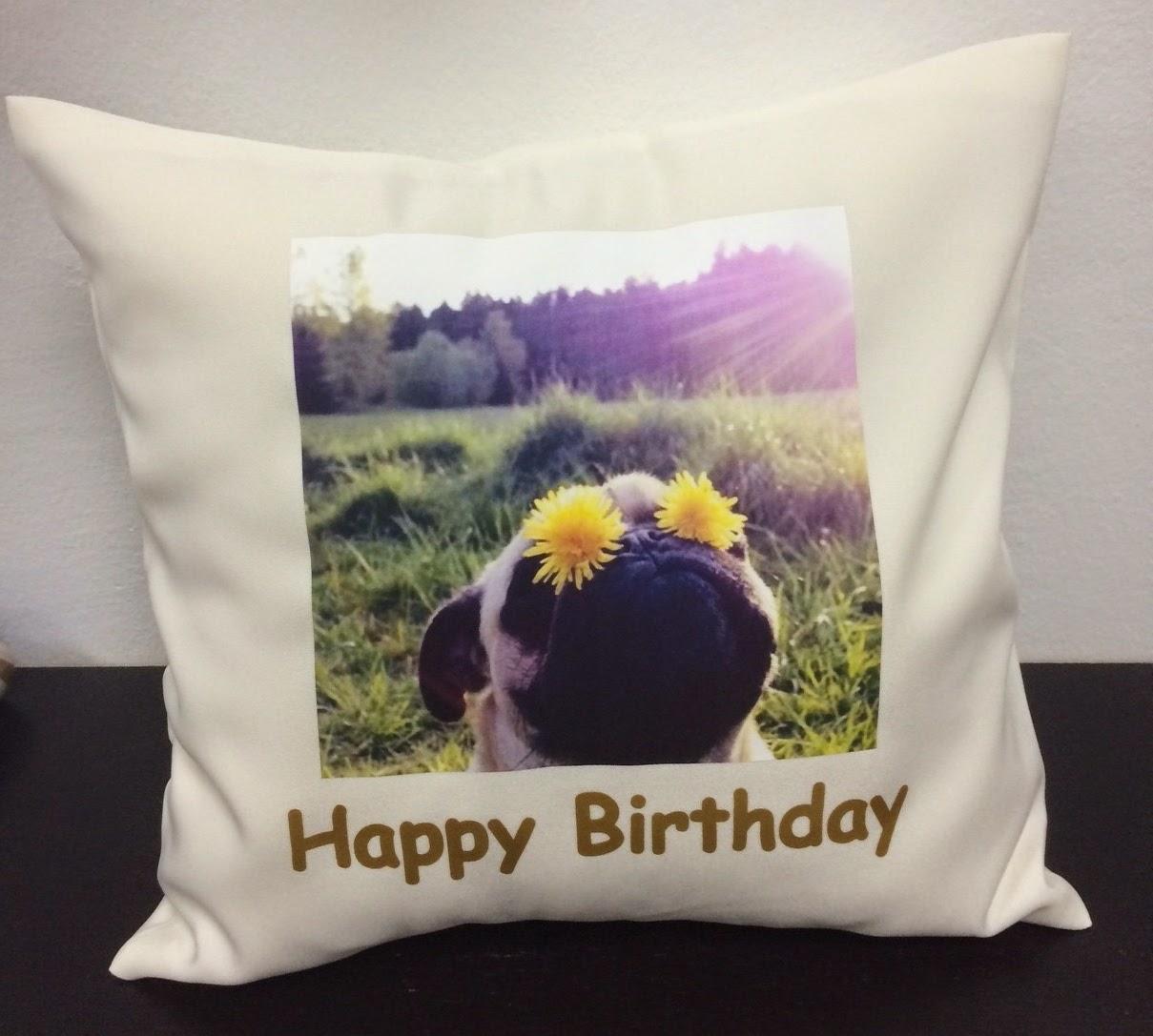 Custom Photo print on Cushion