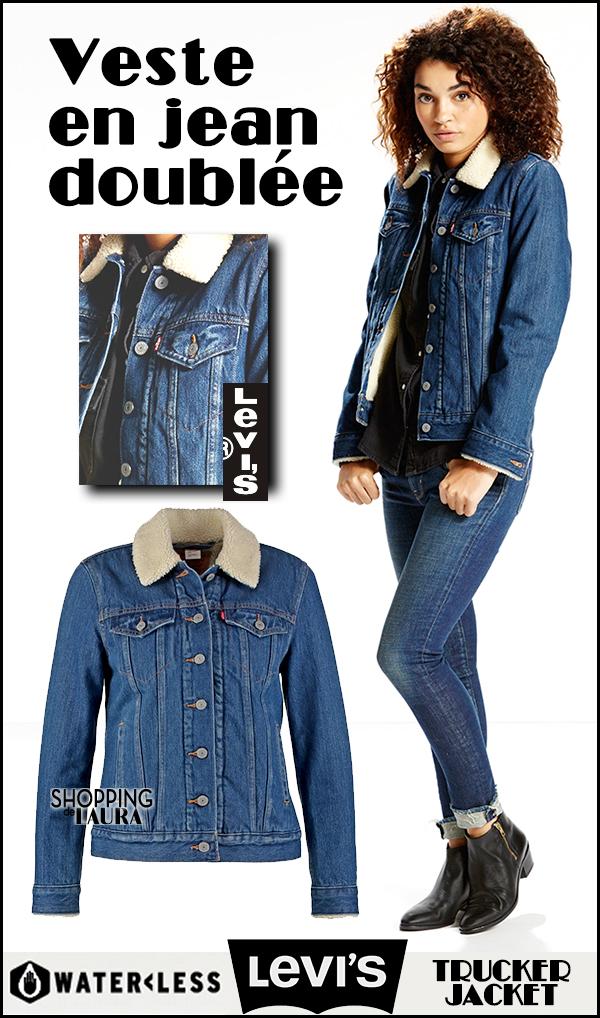 levi s veste en jeans courte femme coloration des cheveux moderne. Black Bedroom Furniture Sets. Home Design Ideas