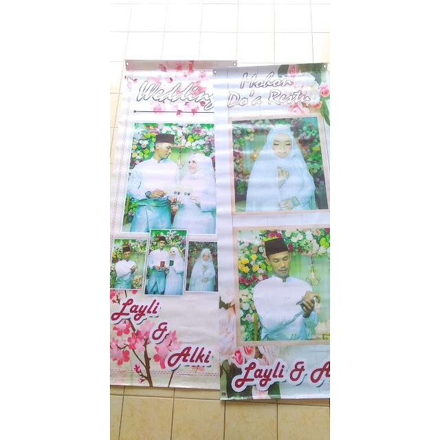 Banner Pernikahan