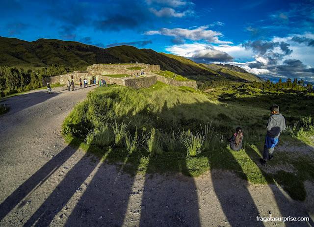 Puka Pukará, construção inca nos arredores de Cusco