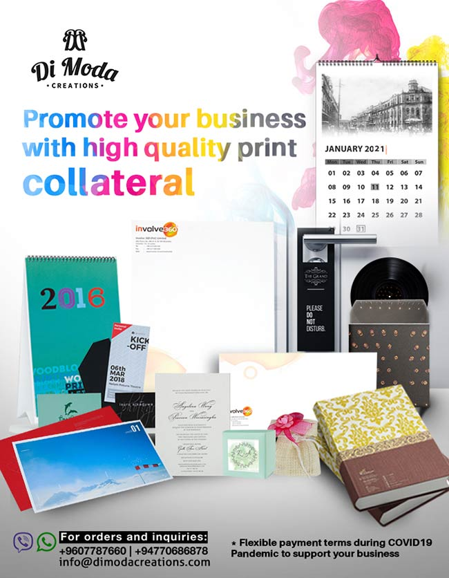 First impressions count. Invest in quality printing and packaging.