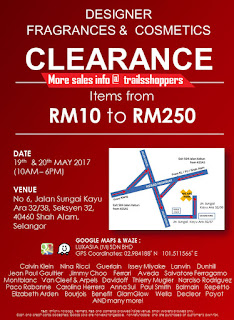 Designer Fragrances & Cosmetics Clearance Sale 2017