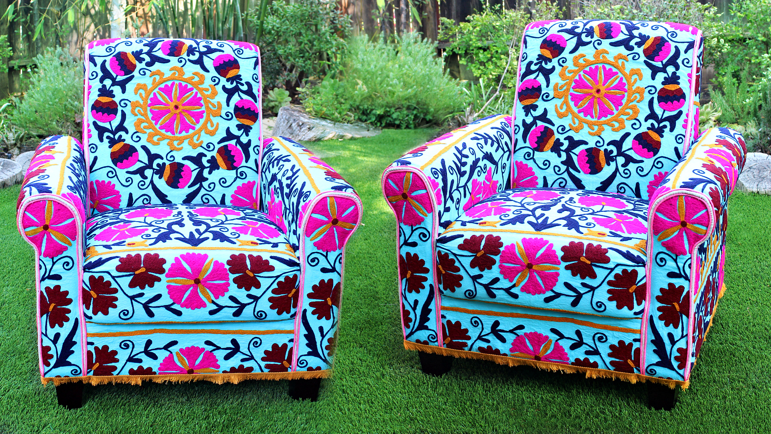 Mark Montano: No Sew Upholstered Boho Chair