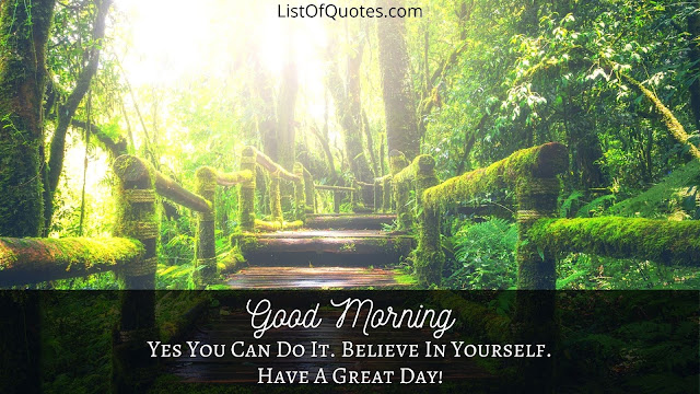 Good Morning Have A Great Day Quotes with Landscape For Friends(HD Images)