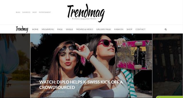 Trend Mag Wordpress Theme Free Download