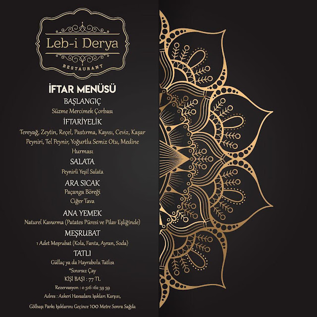 lebi derya çorlu iletişim leb-i derya çorlu iftar menüleri çorlu iftar menüsü çorlu iftar yerleri