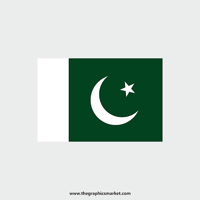 Pakistan Flag the graphics market