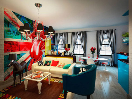 How To Add Pop Art Interior Design To Your Home, Pop Art Style