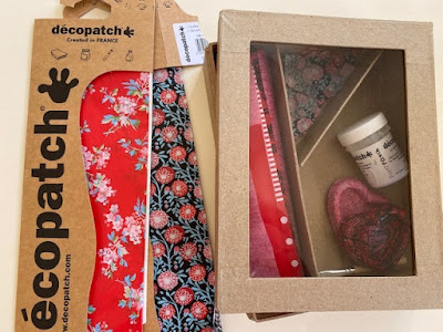Decopatch craft supplies to use up