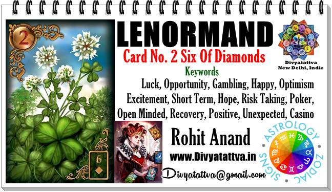 Clover lenormand card, clover meaning, clover oracle card