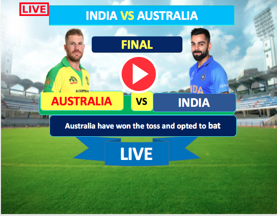 Final  One Day Match :  India vs Australia - 19 Jan, India is bating now