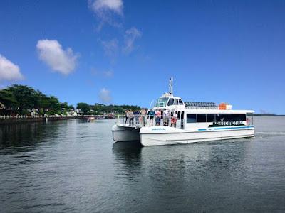 Catamarã fará passeios a Guaraqueçaba (PR), Ponta Norte, Pedrinhas, Marujá e Boqueirão Sul