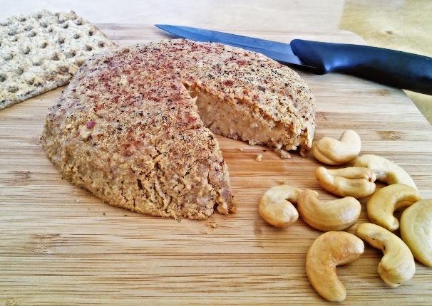 Vegan Cashew Cheese Pate