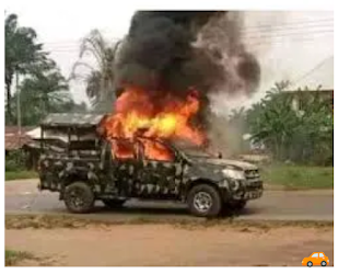 Hoodlums Attacked, Killed And Set Officers On Fire    operatives of the Delta State Police Command have been reportedly killed and their bodies set ablaze.  No fewer than 3 men of the Umutu Divisional Police Hdqtrs were shot dead at a stop and search point along the Obeti--Oliogo Road in Ukwuani LGA of the state.  Newsmen gathered that the criminals attacked the dead officers and burnt them right in their Toyota patrol van.  Attempt to reach the command's Police Public Relation Officer for a statement proved abortive.