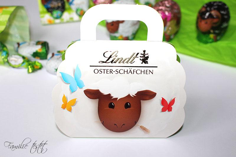Geschenkbox Ostern Lindt Schäfchen Schafe