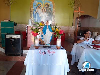 VEM AI O 5º ENCONTRÃO DIOCESANO DA LEGIÃO DE MARIA DA DIOCESE DE COROATÁ
