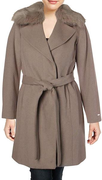 Women's Faux Fur Collar Jackets Coats