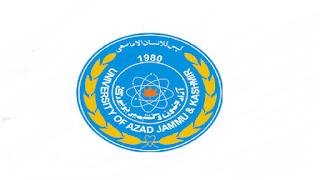 University of AJK Jobs 2021 in Pakistan