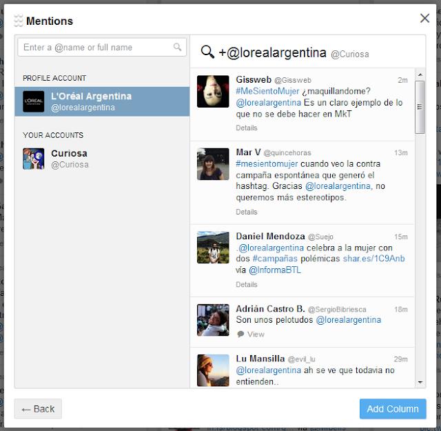 Loreal-argentina-menciones-Twitter