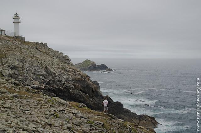 Cabo Faro Touriñan Galicia