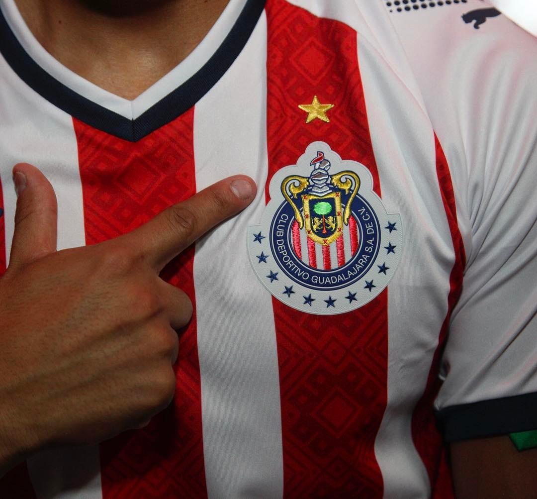 Chivas 17 18 Home Kit Revealed Footy Headlines