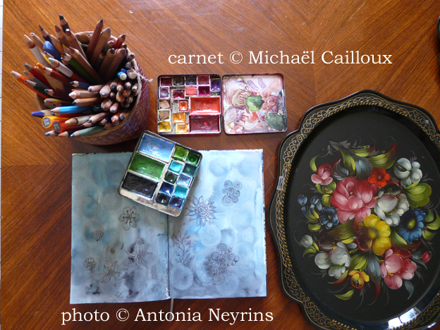 michael cailloux reine taevran antonia neyrins carnet de voyage