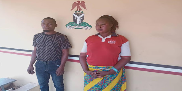 Kogi Couple arrested For Torturing a 12-year-old Boy With Hot Pressing Iron