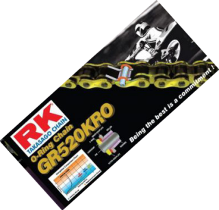 Gambar rantai motor RKM 520KRO
