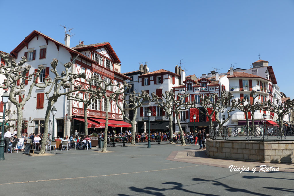 Plaza de Luis XIV, de San Juan de Luz