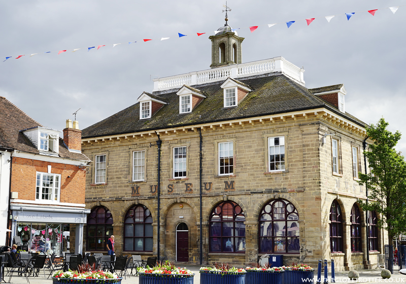 The Market Hall museum in Warwick