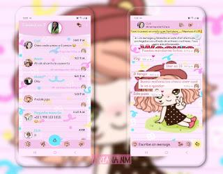 Cute Baby Girls Theme For YOWhatsApp & Fouad WhatsApp By Ariana