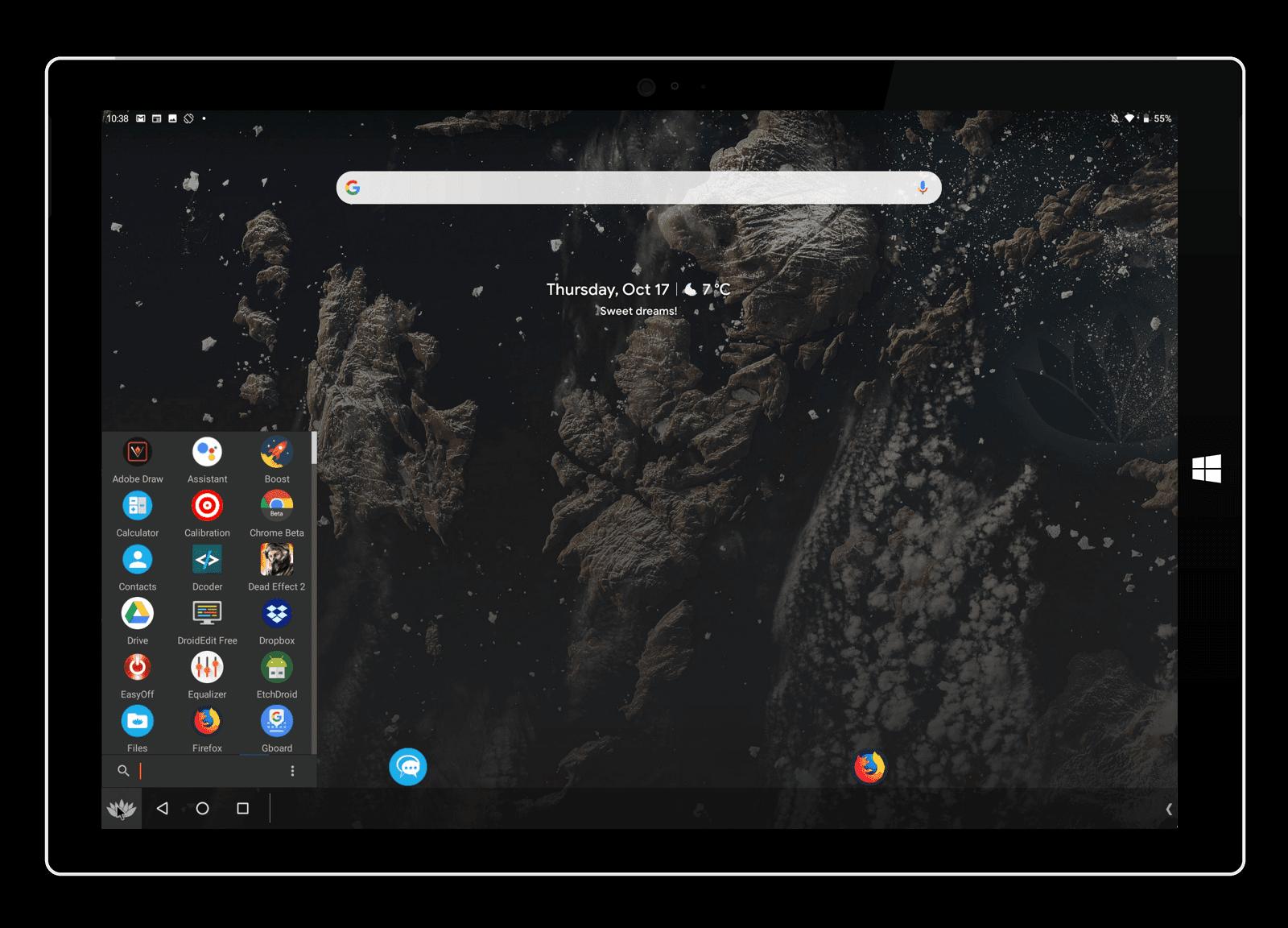 استخدام Bliss OS لجلب Android 10 على نظام التشغيل Windows 10