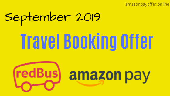 Amazon redbus offer, redbus amazon pay offer code,