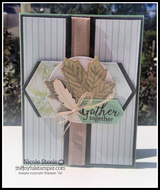 Gather Together card using Come To Gather product suite by Nicole Steele The Joyful Stamper