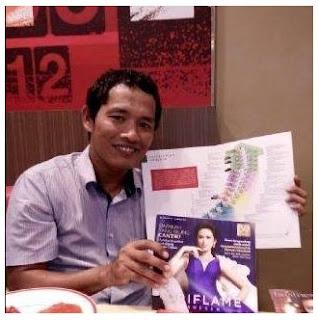 Bisnis, Bisnis Oriflame, Rahmat Fauzi Simanjuntak
