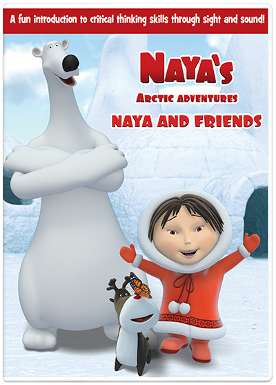 NCircle Entertainment Naya's Arctic Adventure Naya and Friends