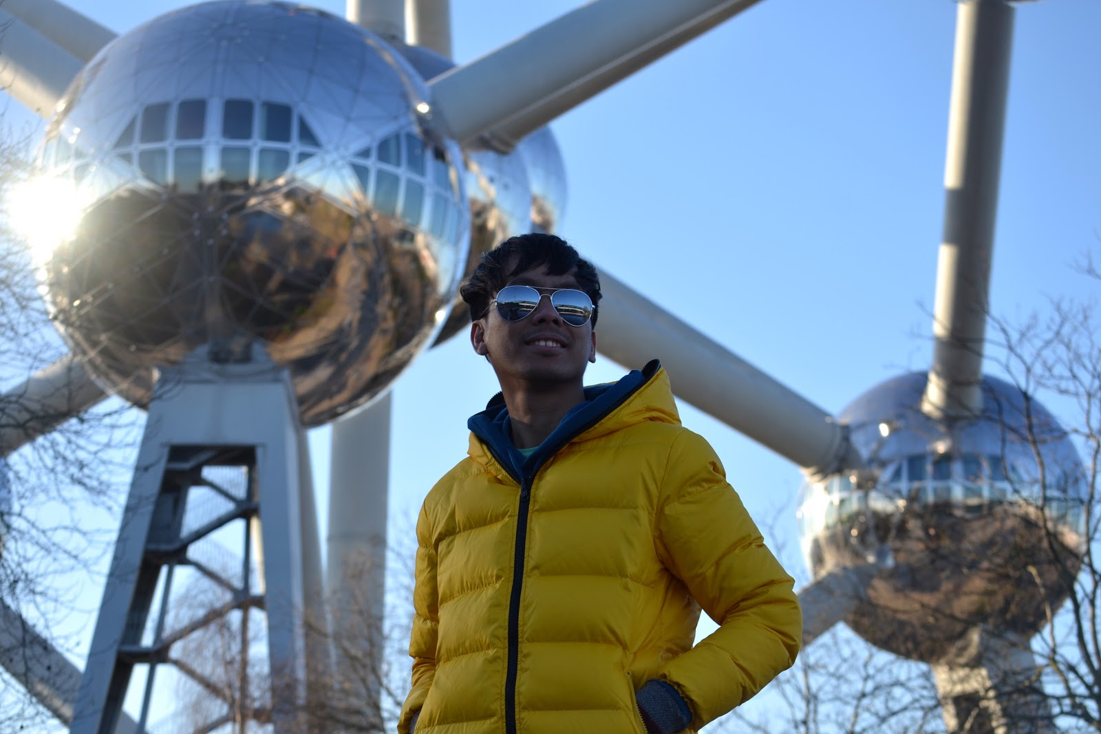marxtermind at the Atomium Brussels