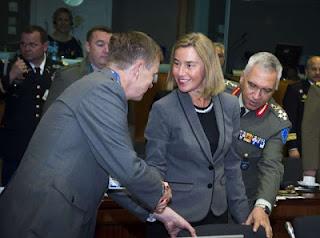 Η Αμυντική Επιτροπή ΕΕ υπό την προεδρεία του στρατηγού Μ. Κωσταράκου ανασκόπησε τα αμυντικά θέματα της Ένωσης, χωρίς ίχνος Ελληνικών θεμάτων