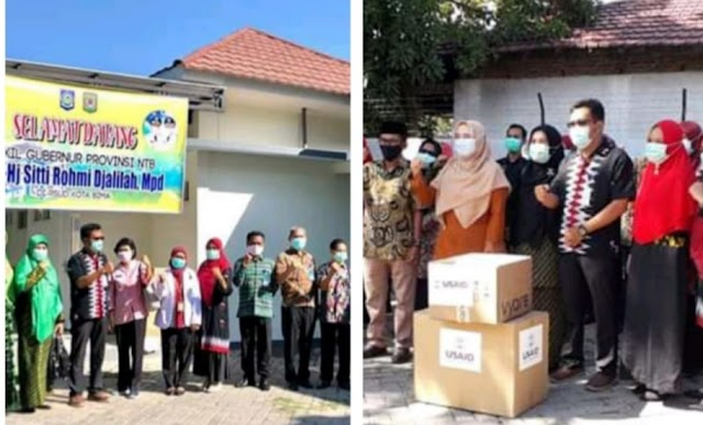 Wagub Serahkan Satu Unit Ventilator ke RSUD Kobi, Direktur dan Jajaran Bersyukur