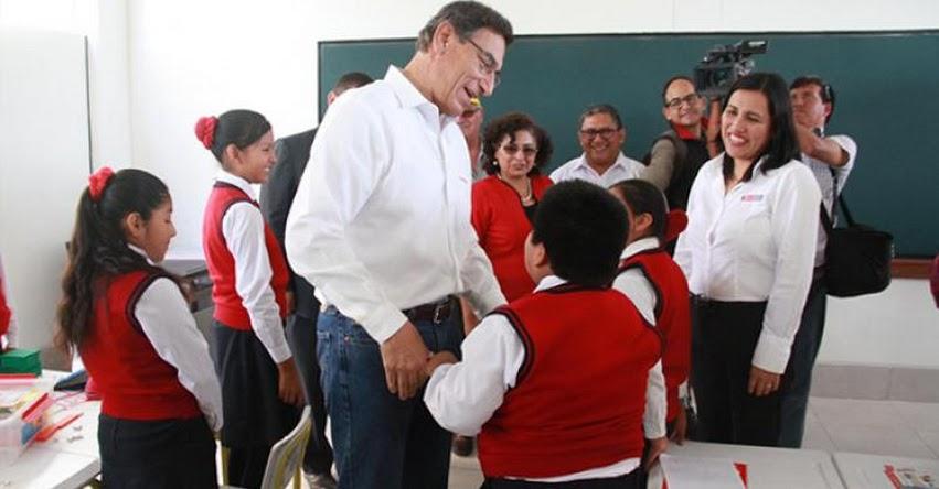 MINEDU entrega infraestructura educativa a favor de 1364 escolares de Camaná - www.minedu.gob.pe
