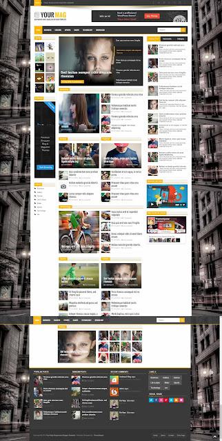 Blogger Theme Demo Image
