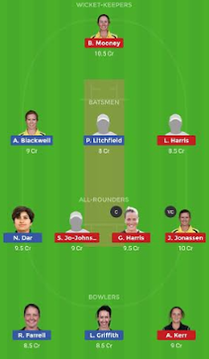 BH-W vs ST-W dream11 team | ST-W vs BH-W