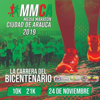 APURE: Apureños compitieron en la Media Maratón Ciudad de Arauca (MMCA).