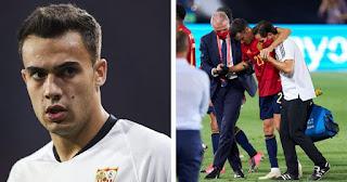 Real Madrid star Reguilon sprained left ankle in thrilling Spain win over Ukraine