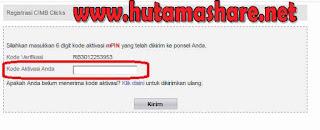 Daftar Internet Banking Cimb Niaga Online